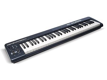 M-Audio Keystation 61 II MIDI Controller Portable Keyboards at amazon