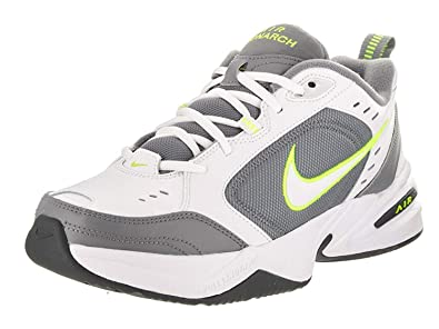1ff08fdc3b6972 Image Unavailable. Image not available for. Colour  Nike Men s Air Monarch  IV White White Cool Grey Volt Training Shoe 7