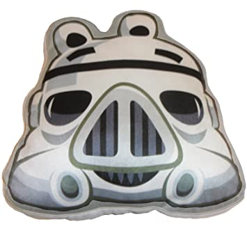 Angry Birds Star Wars - Cojín, diseño Stormtrooper ...