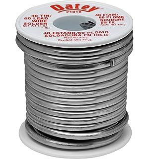 Oatey 21018 40/60 Wire Solder, 0.125-Inch ga. - 1 lb