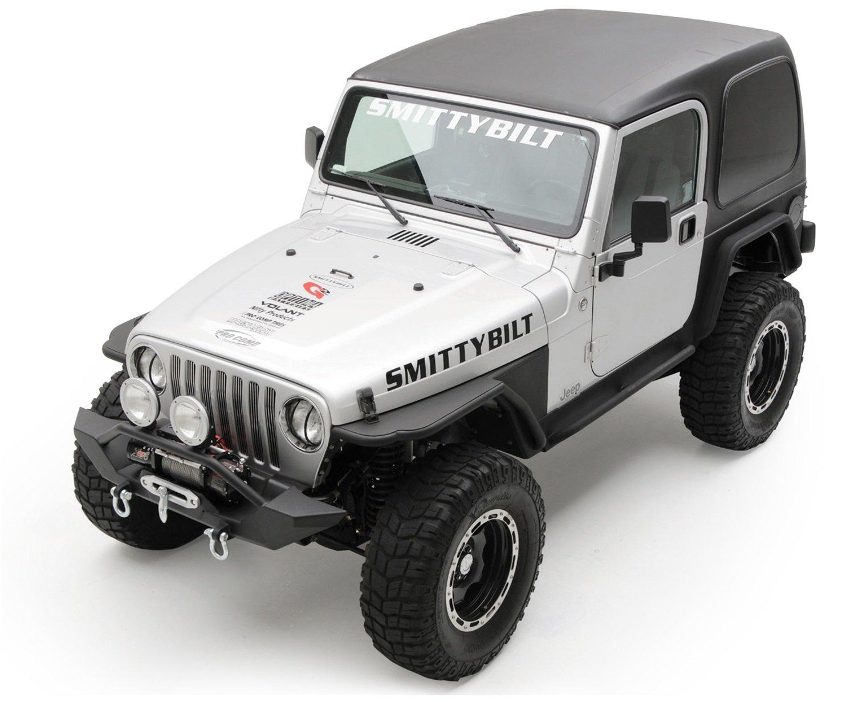 Amazon.com: Smittybilt 529801 Black Hard Top for Jeep TJ - 2 Piece