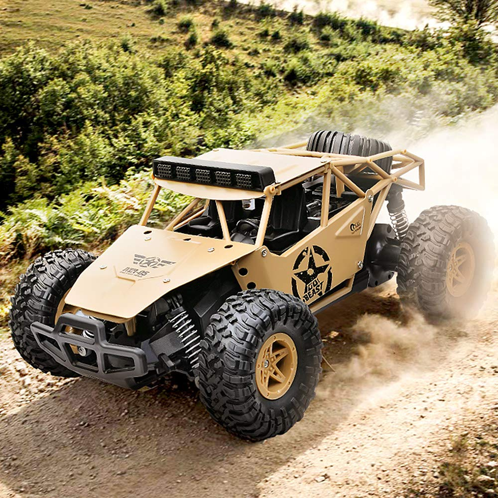 Festnight SUBOTECH 1//16 RC Military Truck Crawler Army Car 2.4G 4WD Off-Road Trucks RC Car RTR Electric Racing Vehicle