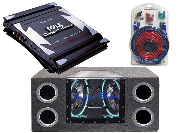 Amazon.com: Pyle Deluxe Amplifier/Subwoofer/Installation Package for ...