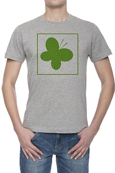 Green Systemedic Ecológico Mariposa De Green Camiseta Para Hombre Gris Todos Los Tamaños | Mens Grey