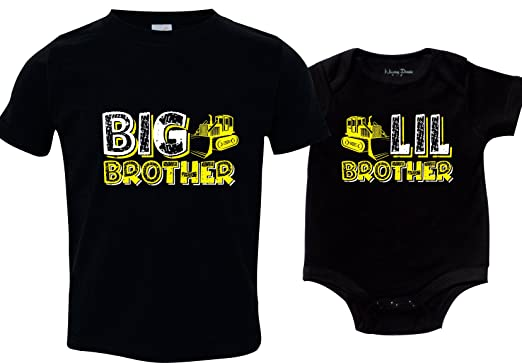 8b9bc00f0 Amazon.com: Feisty and Fabulous Construction Big Brother and Little ...