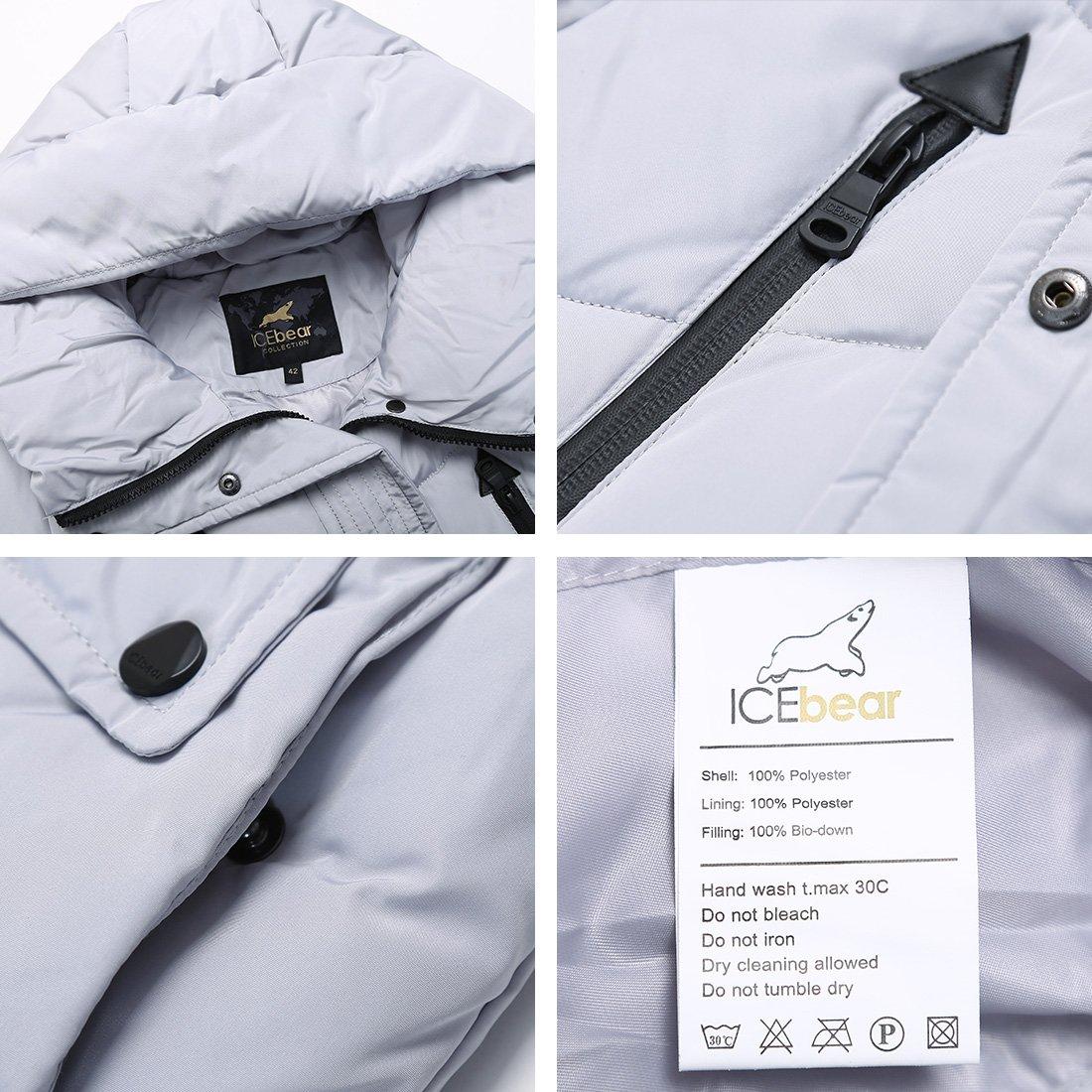 Doudoune Hiver Épaissi Femme Veste Manteau À En Coton Icebear Longue UwC8qZxp