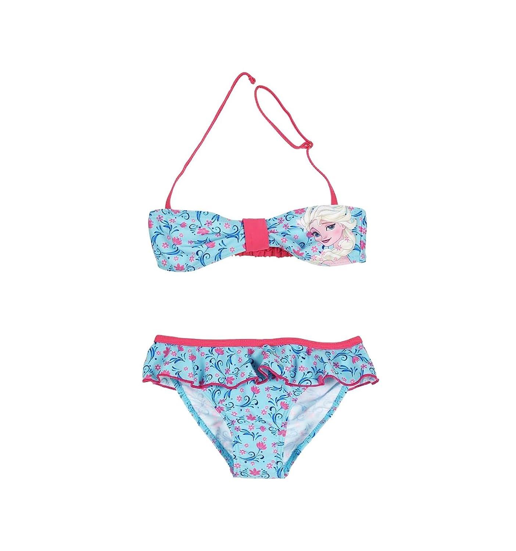 6e2ff8f8e La Reine des Neiges Maillot de bain 2 pièces enfant fille Bleu/rose ...