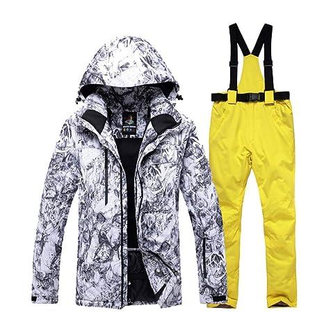 Zjsjacket Chaqueta de esqui -30 Hombres Snow Custome ...