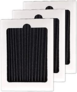 Activated Carbon Refrigerator Air Filter Replacement fit Frigidaire Pure Air Ultra PAULTRA Electrolux EAFCBF Air Filter, 3 Pack