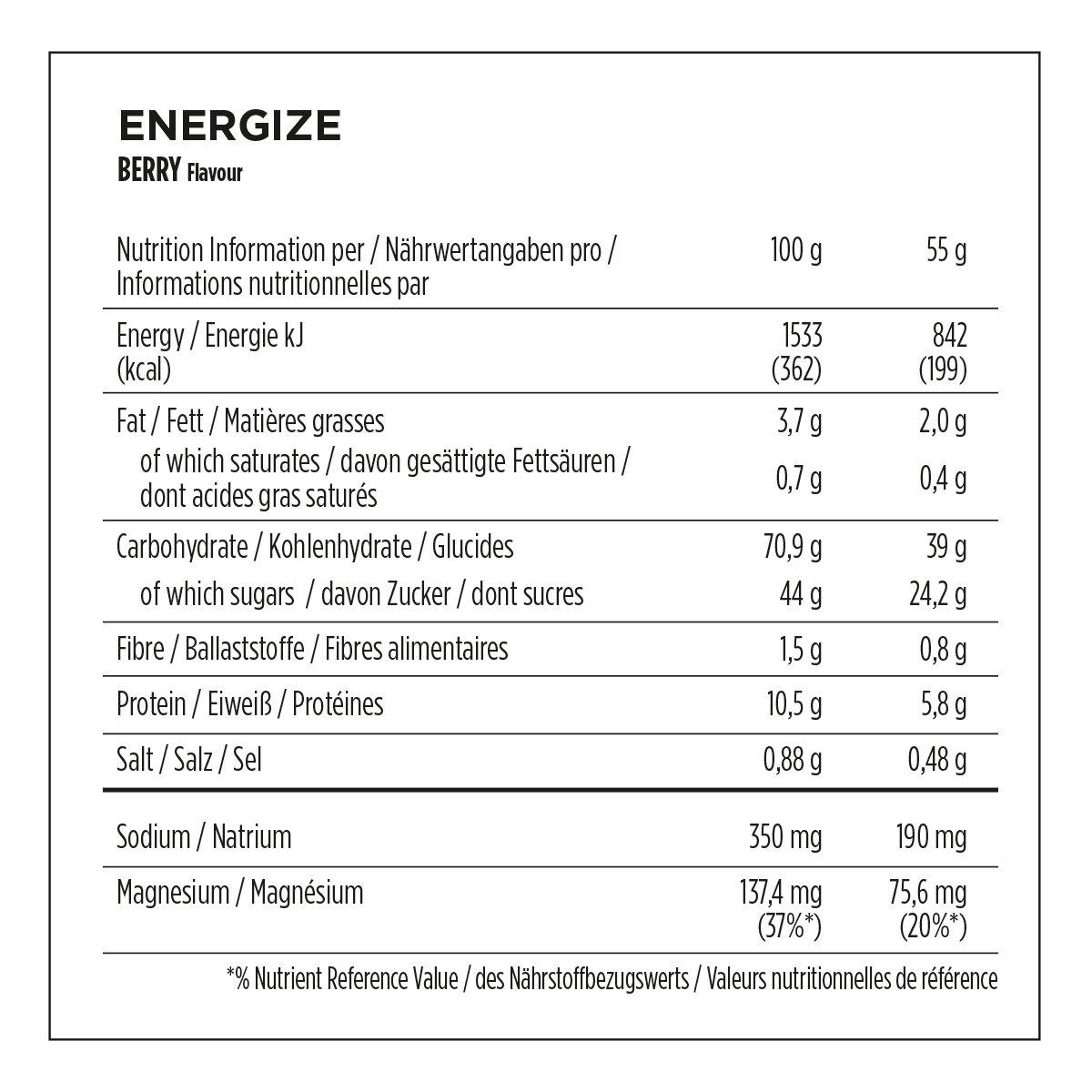 Powerbar PWBB21442443 - Chaleco, color marrón, talla 55 g (25 Pack): Amazon.es: Salud y cuidado personal