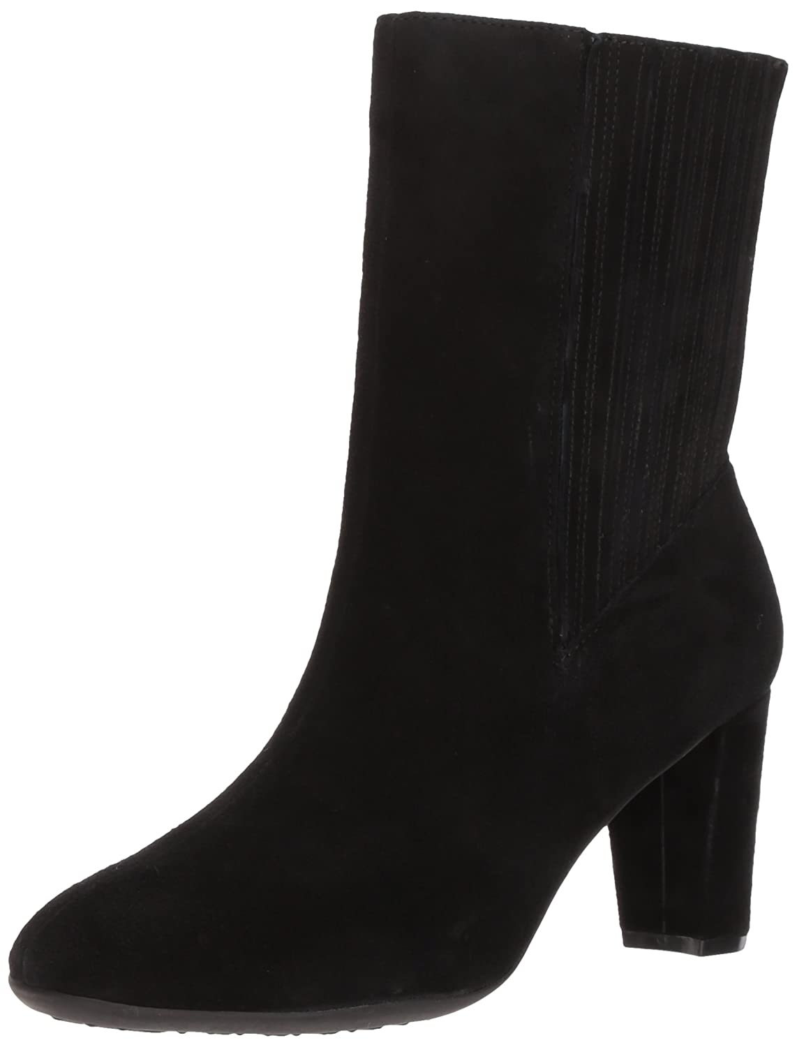 Aerosoles Women's Fifth Ave Mid Calf Boot B06Y5TNJLS 11 B(M) US|Black Suede