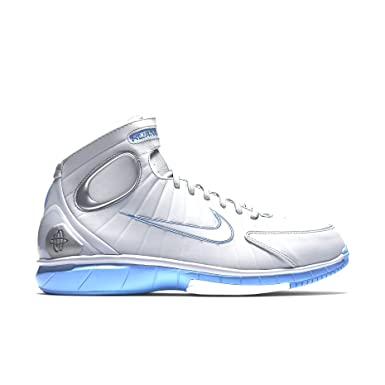 7d53fa361ca5 Mens Nike Air Zoom Huarache 2K4 Kobe MPLS Wolf Grey University Blue White  308475-002
