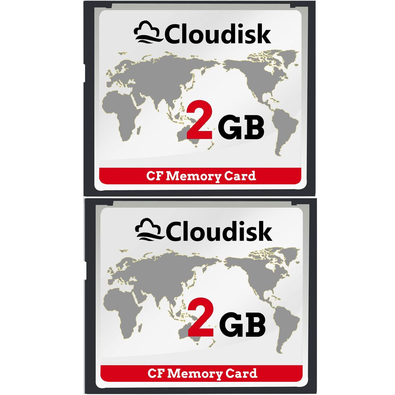 2pcs 2 GB Rendimiento De La Tarjeta De Memoria Compact Flash De ...