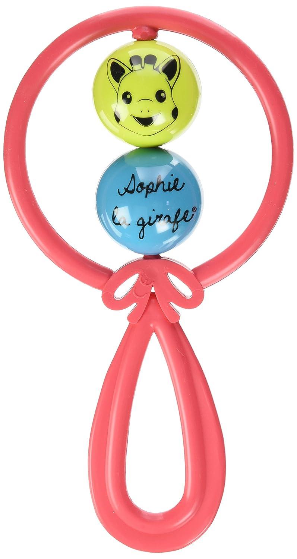Vulli Coloris Al/éatoire Sophie la Girafe Hochet 2 Boules Fresh Touch