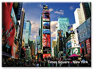 Times Square - New York City Photo Souvenir Refrigerator Magnet - NYC Fridge Magnets