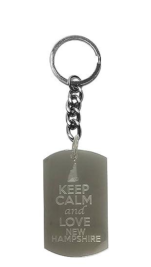 Amazon.com: Keep Calm And Love New Hampshire Estado Logo ...