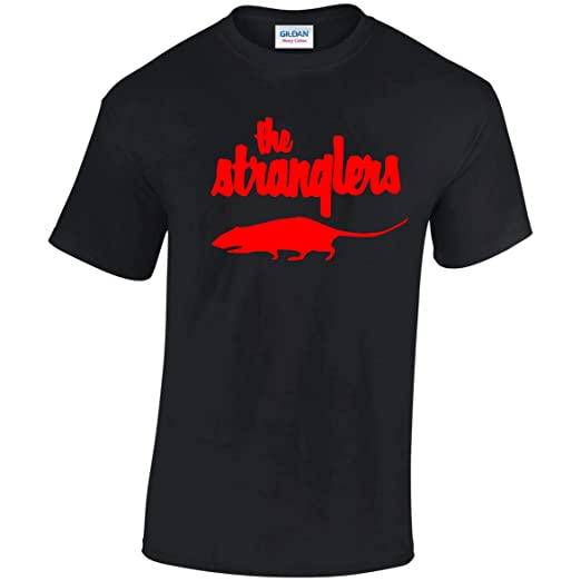 The Stranglers Rat T-shirt for Adults, S to 3XL