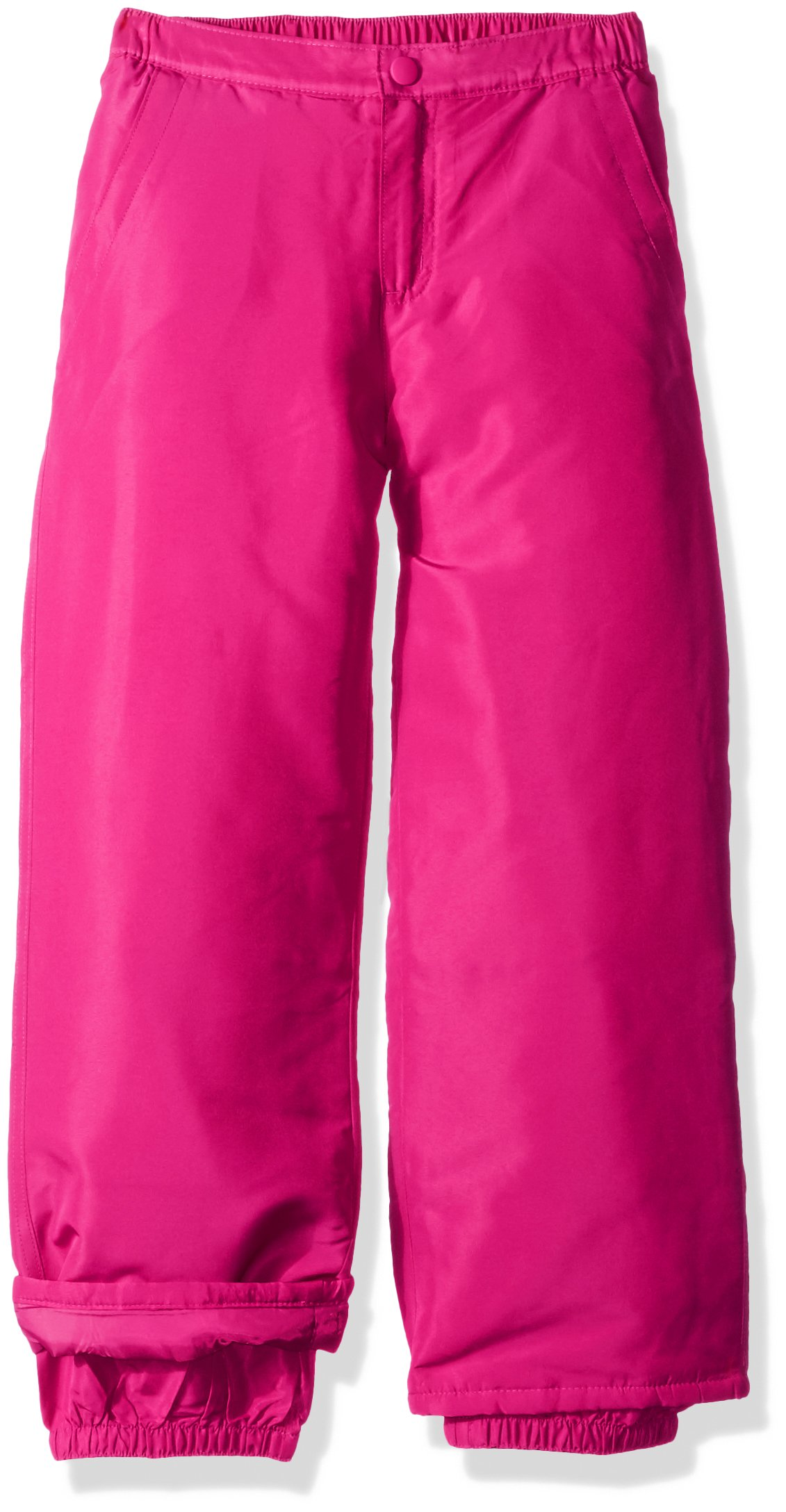 The Children's Place Big Girls' Solid Snow Pant, Hot Gossip Neon, 6