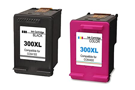 4inx Compatible para HP 300XL Cartuchos Tinta Remanufacturados ...