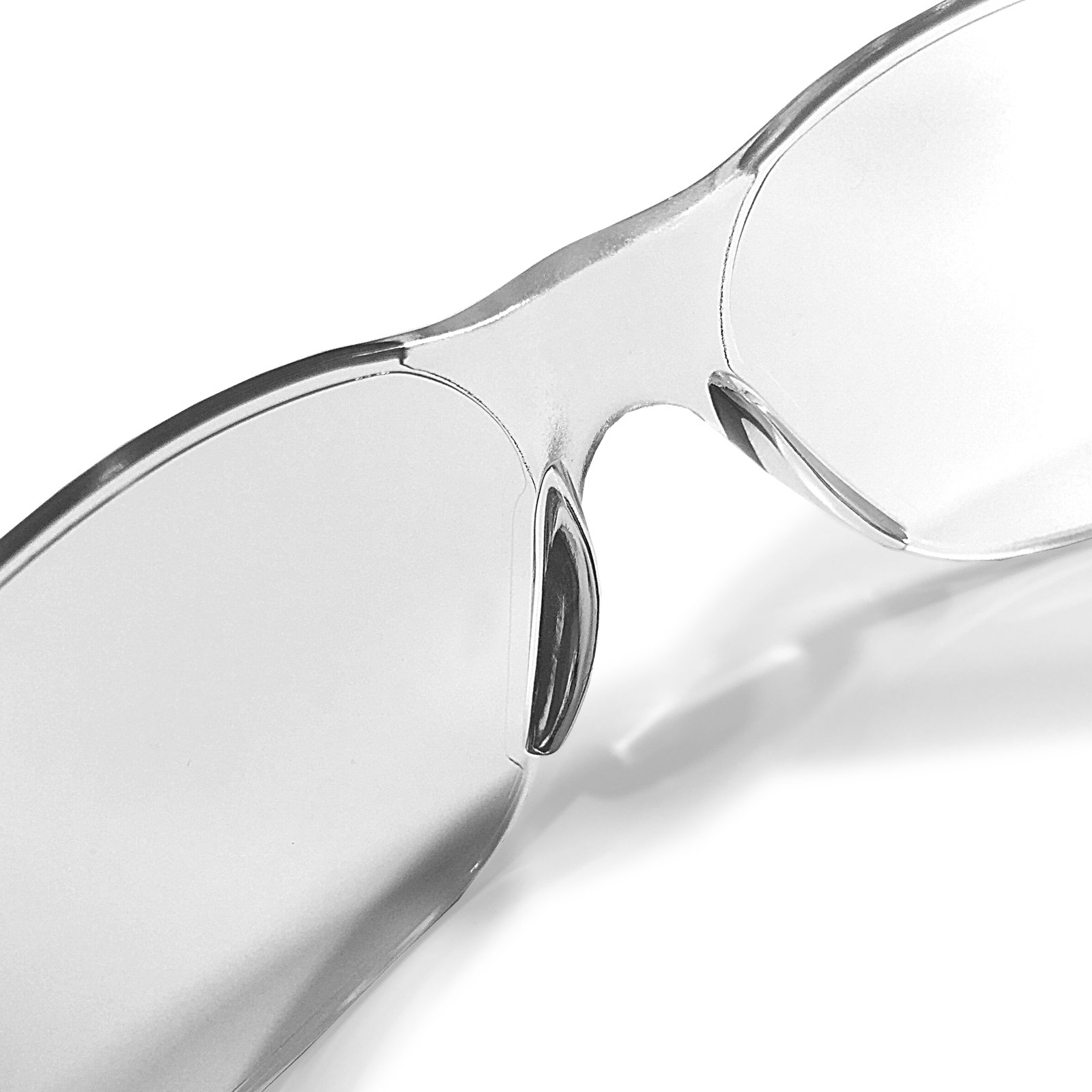 JORESTECH Eyewear Protective Safety Glasses, Polycarbonate Impact Resistant Lens Pack of 12 (Clear) by JORESTECH (Image #4)