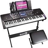 RockJam 61 Key Keyboard Piano With LCD Display...