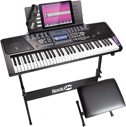 RockJam 61 Key Keyboard Piano