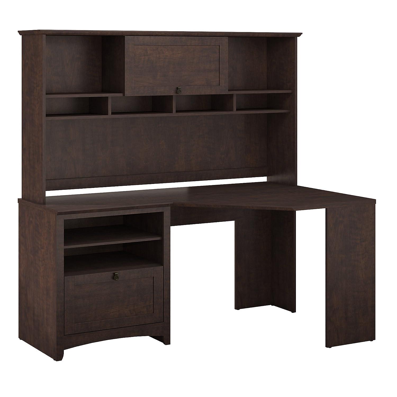 Buena Vista Corner Desk with Hutch