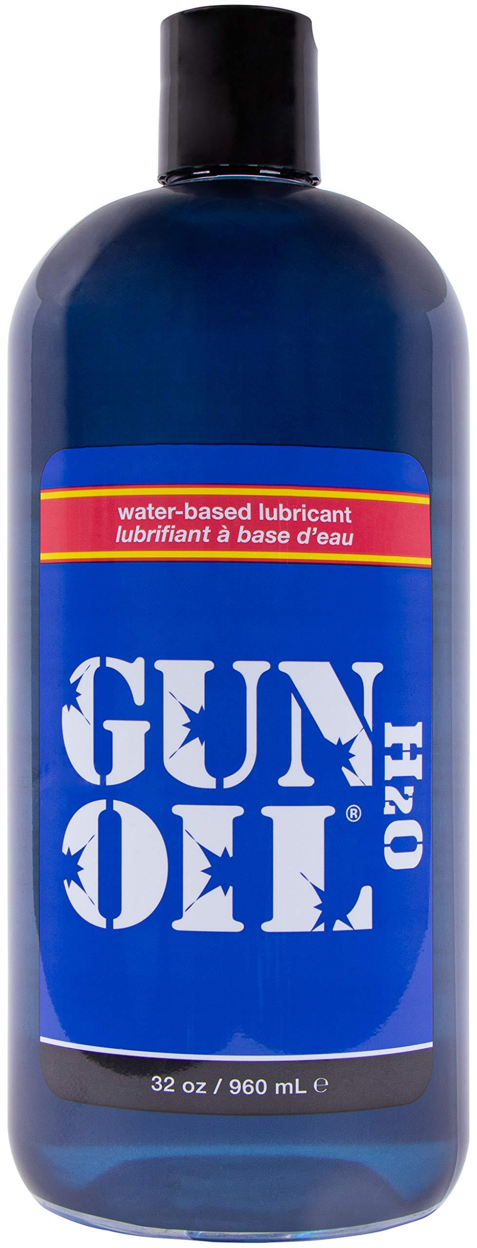 GUN OIL - H2O Water-Based Lubricant (32 Fluid Ounce - 1000 Milliliter) by Gun Oil