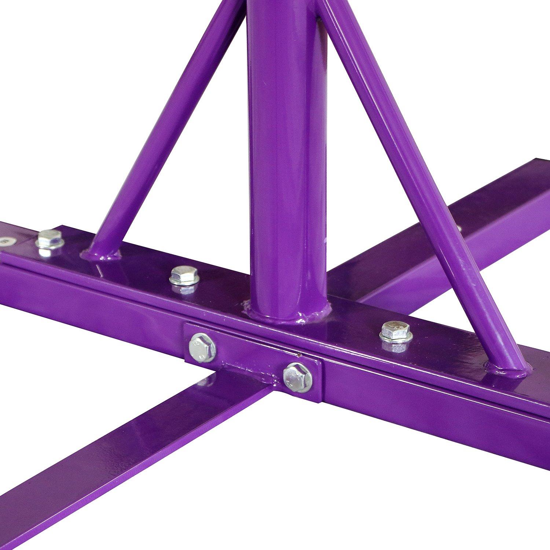 Bestmart INC Adjustable Height Kip Bar for Gymnastics(Purple) by Bestmart INC (Image #5)