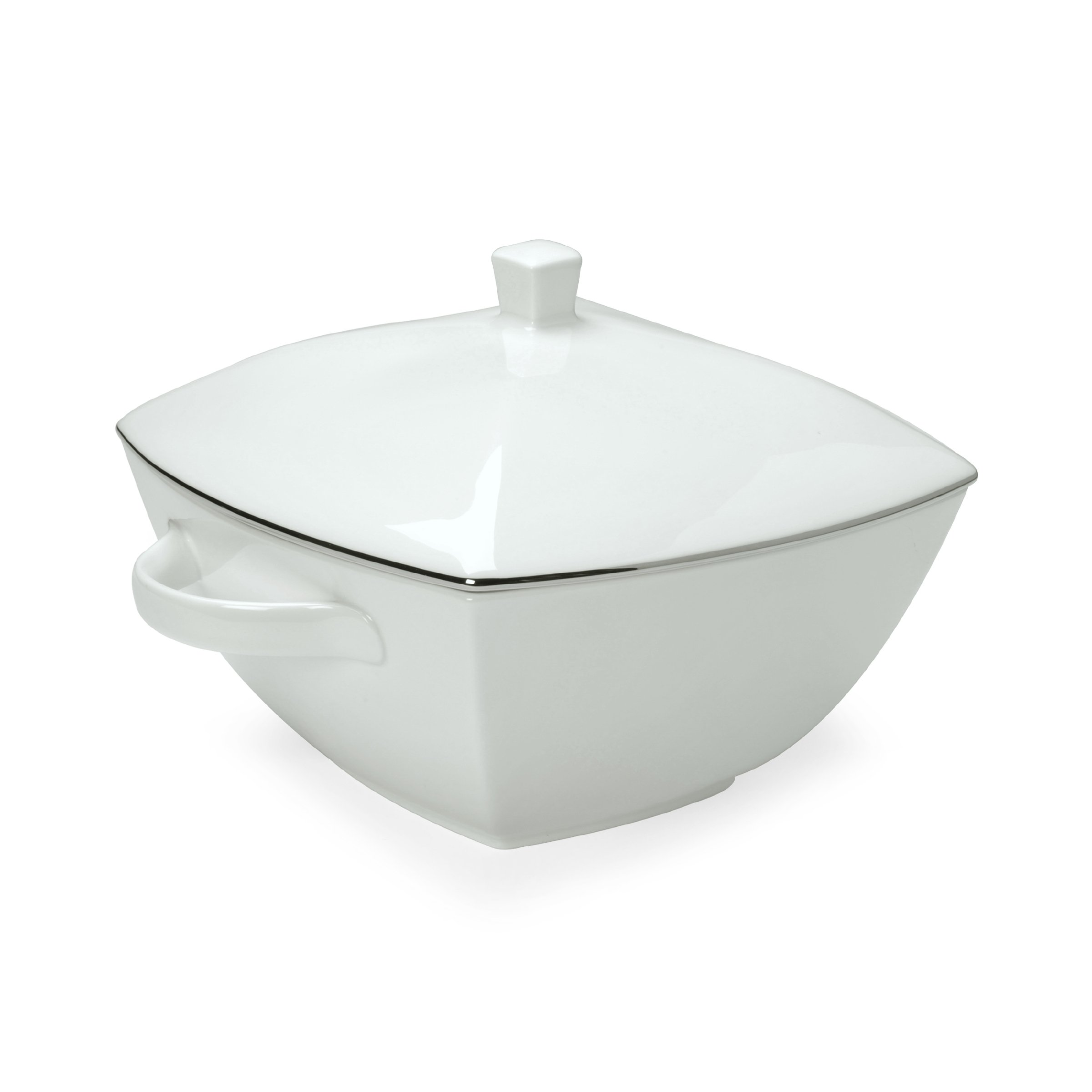 Mikasa Couture Platinum Covered Casserole, 11-Inch