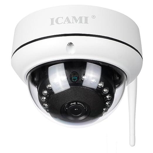 Cámara IP Icami HD 720P Vigilancia de Vigilancia WiFi ...