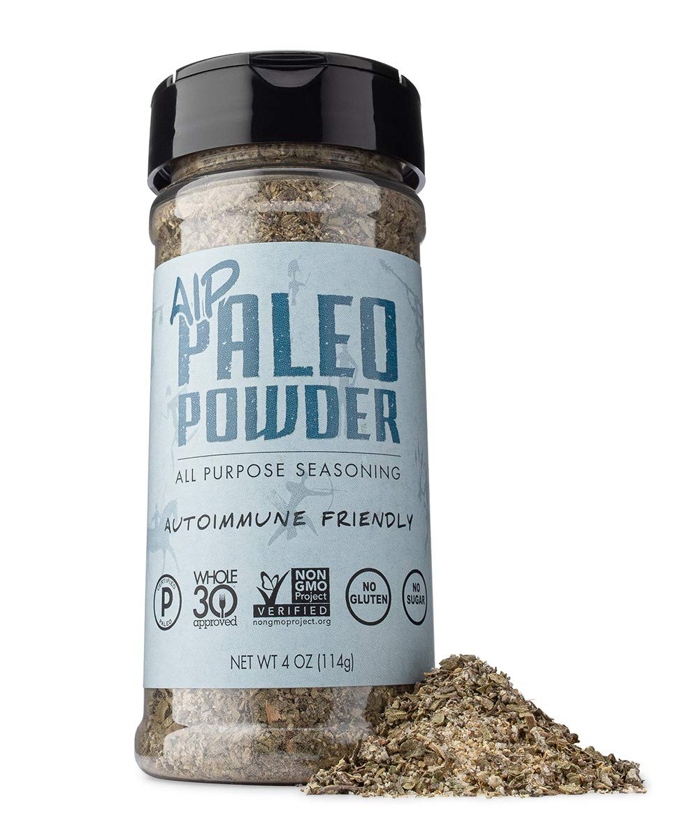 Paleo Powder Autoimmune Protocol All Purpose Seasoning | The Original Paleo Aip Seasoning Great for All Paleo Diets | Certified Keto Food, Paleo Whole 30, Aip Food, Gluten Free Seasoning