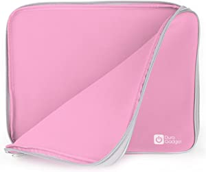 "DURAGADGET 12"" Pink Water & Impact Resistant Neoprene Zip Case - Compatible with Acer Aspire E3-111 