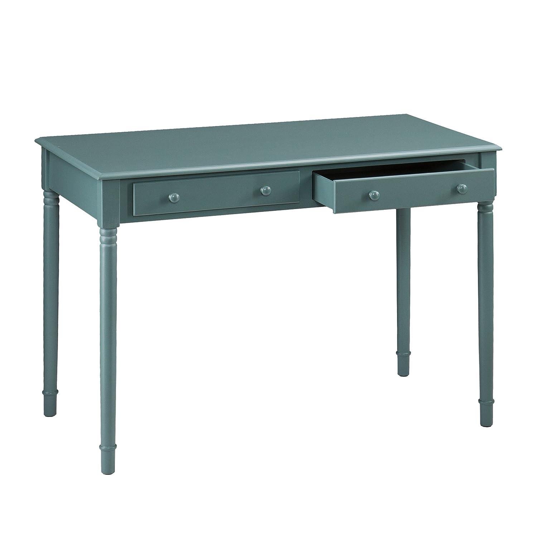 Amazon.com: Southern Enterprises Janice 2 Drawer Writing Desk 42 ...