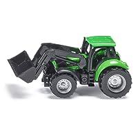 Siku 1043 - Véhicule sans piles - Tracteur Deutz avec chargeur frontal - 1,64 ème