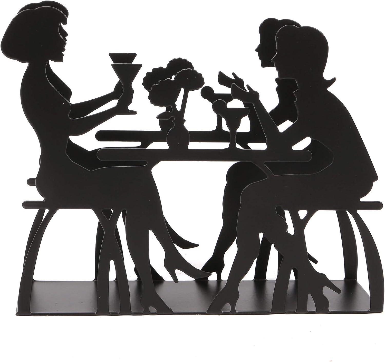 piano di lavoro dispenser di carta contenitore per fazzoletti verticale per tavolo da pranzo cucina Adanse portatovaglioli in acciaio inox