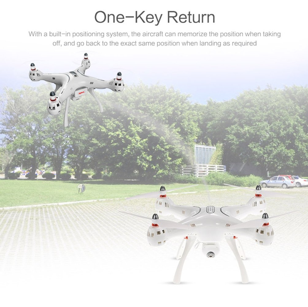 Amazingbuy Syma X8pro X8 Pro Gps Drone With 720p Wifi Fpv Drore Auto Return Real Time Camera Altitude Hold Rc Racing Quad Copter Helicopter