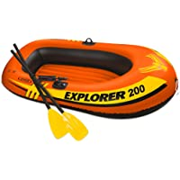 Intex Explorer 200 58330EP 2-Person Inflatable Boat (Orange)