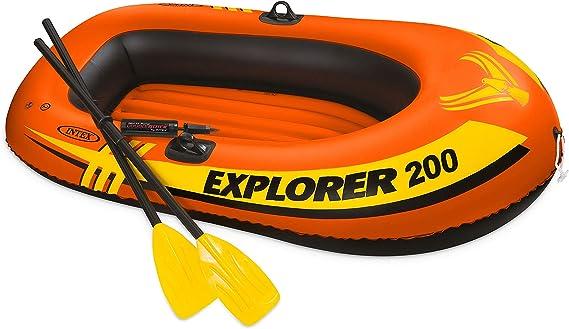 Juego de Botes Explorer 200 de 198 cm (58331): Amazon.es: Juguetes ...
