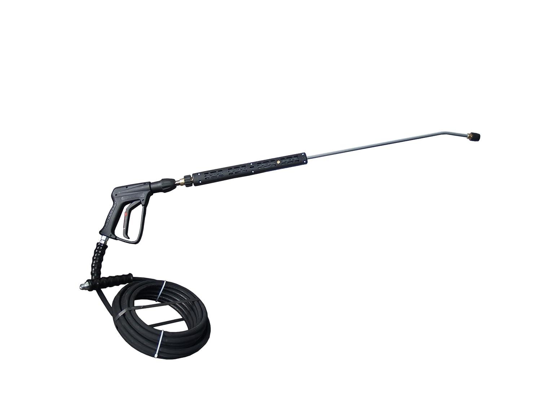 Profiset für Hochdruckreiniger NILFISK ALTO Strahlrohr 10m Schlauch 3/8 AG Hochdruckpistole mit Schnellkupplung Poseidon Neptune