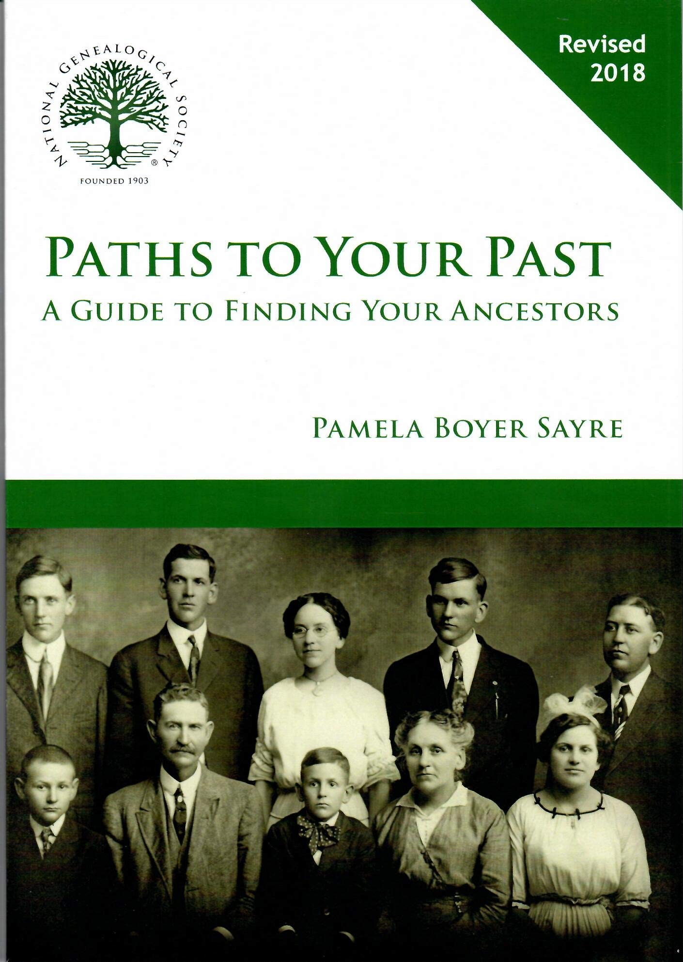 Paths to your past : a guide to finding your ancestors image cover
