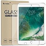 Bywin Film Verre Trempé pour New iPad 9.7 2017 / iPad Air 1 / Air 2 / iPad Pro 9.7 Dureté 9H, Ultra-mince 0.25 mm, 2.5D Bords Arrondis- Anti-rayure Meilleur écran Protection Protege Vitre APPLE Tempered Glass Screen Protector en de