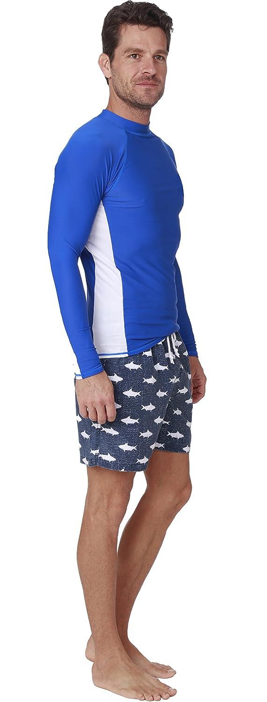 INGEAR Long Sleeve Rash Guard Swim Tee Surfing Shirt UPF 50 Beachwear Sport Swimwear
