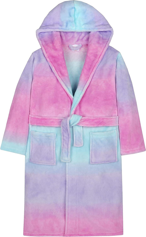 4Kidz Robe de Chambre Multicolore Arc-en-Ciel Fille