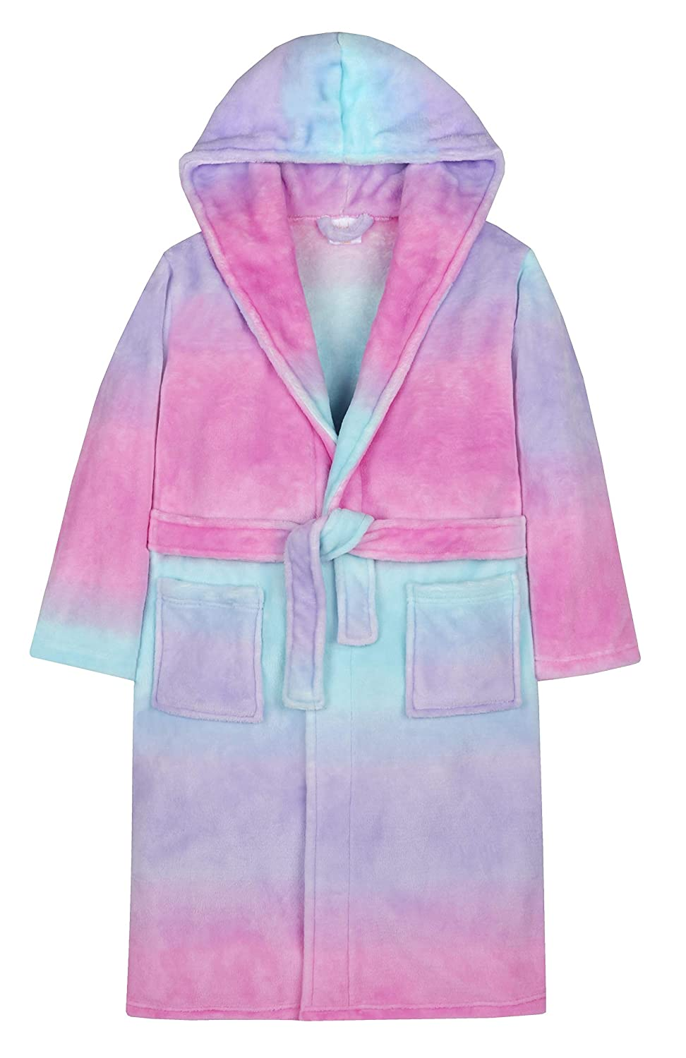 4 KIDZ Girls Rainbow Gradient Dressing Gown