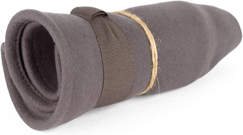 Elegant Wool Trilby Hat Waterproof /& Crushable Handmade in Italy