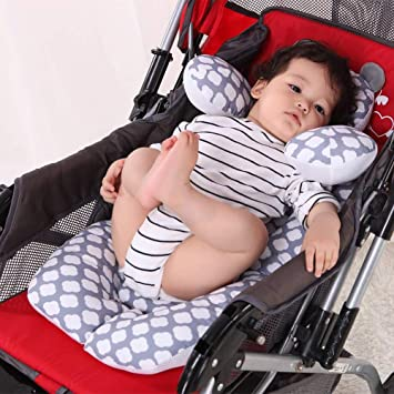 Infant Newborn Cotton Seat Pad Body Support for Baby Car Seat High Chair Stroller G-Tree Baby Stroller Head Neck Body Cushion for All Seasons Universal