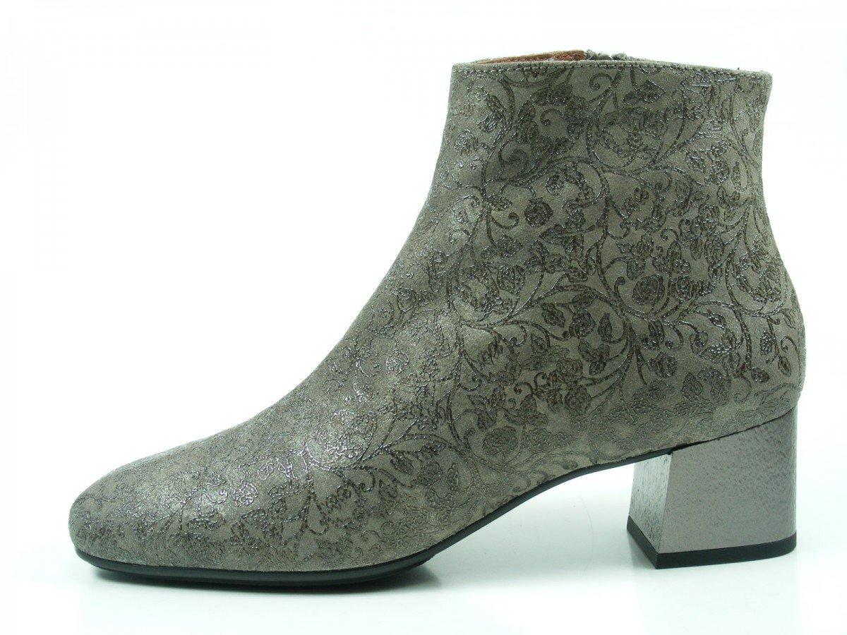 Hispanitas Penelop HI75980 Botines de cuero para mujer Ankle Boots39 EU|Grau