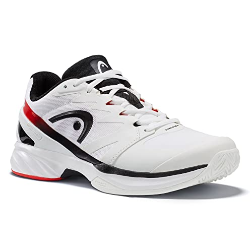 Head Sprint PRO, Scarpe da Tennis Unisex-Adulto, Bianco (White/Black), 42.5 EU