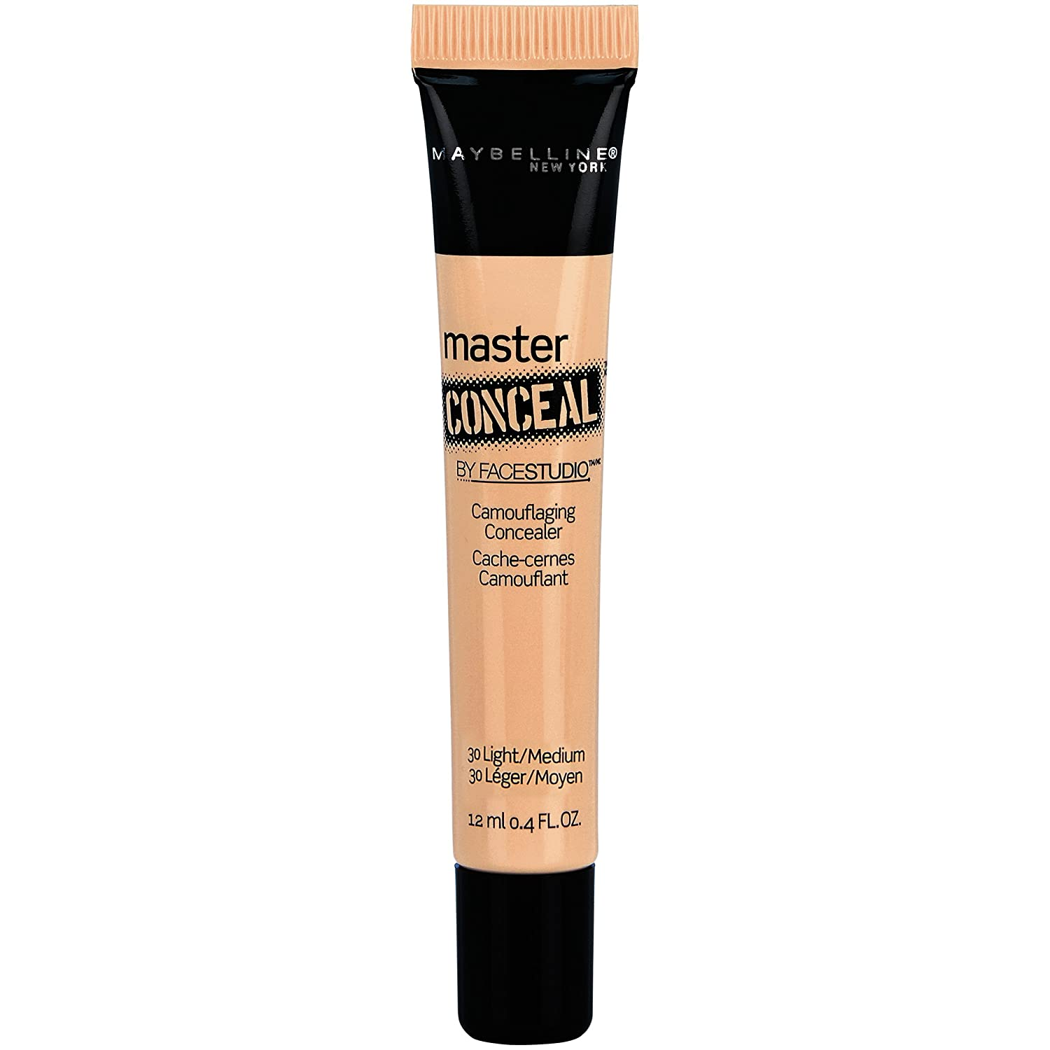 Maybelline New York Face Studio Master Conceal Makeup, Light/Medium, 0.4 Fluid Ounce by Maybelline New York K1819500